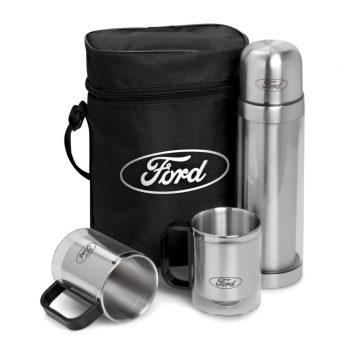 Admiral 500ml Double-Wall Flask & Mug Set