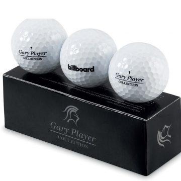 Gary Player Soft Feel Golf Balls Set Of 3