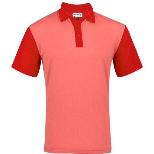 Mens Crossfire Melange Golf Shirt