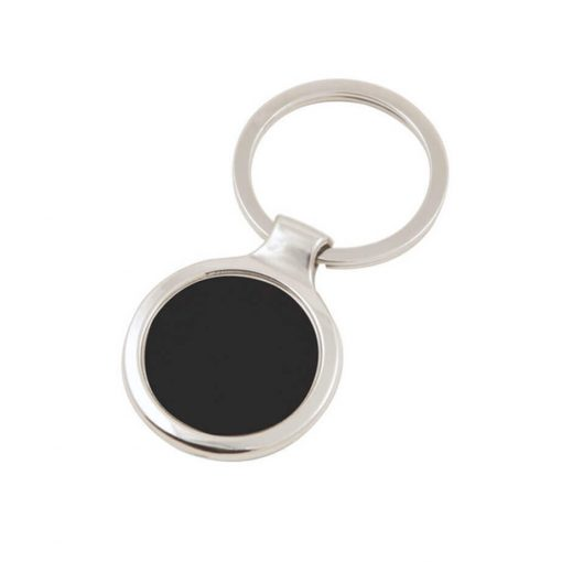 Round Dome Keyring