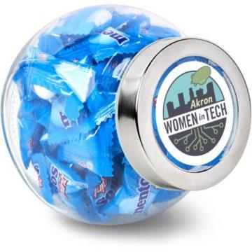 Mentos Classic Glass Candy Jar